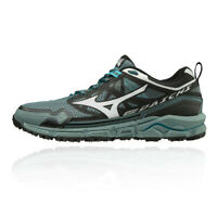 Mizuno Mens Wave Daichi 4 Trail Running Shoes Trainers Sneakers Black Blue