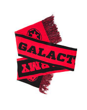 OFFICIAL STAR WARS GALACTIC ARMY THE EMPIRE SYMBOL RED & BLACK SCARF (BRAND NEW)