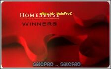 HOMESENSE WINNERS MARSHALLS USA RED RIBBON #600176 RARE COLLECTIBLE GIFT CARD