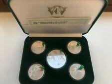Ukraine,  Set Coins EURO 2012 in Box ,Silver , 2011 year