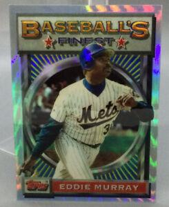 1993 Topps Refractor - Eddie Murray - Baseball Card