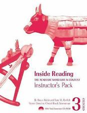 Inside Reading 3 Instructor Pack: The Academic Word List in Context by Ravitch,