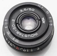 Industar-50-2 3.5/50 Industar 50mm 50 mm 3.5 - M42 Anschluss