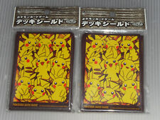 Japan Pokemon Center Limited Card Sleeves Many Pikachu (64 pcs)