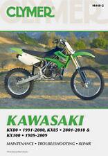 CLYMER REPAIR MANUAL Fits: Kawasaki KX85,KX100,KX80,KX80 Big Wheel