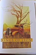 Kings of Leon  Mini Concert Poster for 2009 New Zealand  Gig 14x10