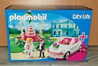 Playmobil 6871 Starter Set Hochzeit City Life Braut Bräutigam Cabrio Neu OVP