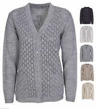 Unbranded Women's Long Sleeve V Neck Button Jumpers & Cardigans