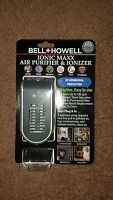 Bell & Howell Ionic Maxx Air Purifier and Ionizer UV Germicidal Protection NEW