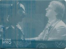 Doctor Who Timeless Cyan Printing Plate Base Card #31