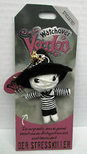 Watchover Voodoo Puppe Der Stresskiller-Schlüsselanhänger-Glücksbringer-neu+OVP