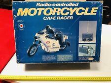 Motorcycle Cafe ' Racer Moto 1:8 Entex Ultra-Rare Vintage New