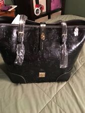 Disney Dooney Icon All Leather Embrossed Sketch Tote NWT