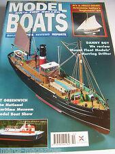 MODEL BOATS OCTOBER 1996 DANNY BOY FIRE BOAT II HMS BOUNTY JOLLY FRED COBURN