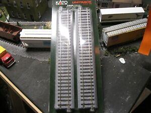 Kato 2-150 HO Unitrack 246mm 9.75in Straight 4pcs CODE 83 RAIL!!