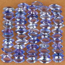 Molto RARA 7x3.5mm Marquise-FACET Viola-Azzurra Naturale Tanzanite Pietra Preziosa