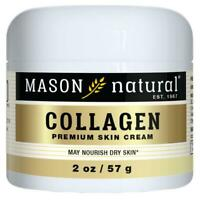 """Collagen Beauty Cream, Mason Naturals, Pear Scented 2 oz (57g) """"New Packaging"""""""