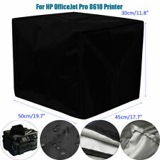 Waterproof 3D Printer Dust Cover Black for Epson Workforce/HP OfficeJet Printer