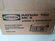 Raytheon Raynav 750 Mk Ii Brand New In Its Original Packaging With All Cables &