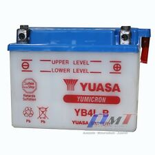 Yuasa Yb4l-b Motorradbatterie 12v 4ah YuMicron Inkl. Säurepack