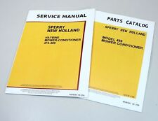 NEW HOLLAND 489 HAYBINE MOWER CONDITIONER SERVICE REPAIR PARTS MANUALS CATALOG
