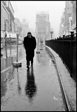James Dean Times Square 1955 Home Decor Canvas Print A4 size (210 x 297mm)