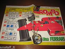RIVISTA ROMBO 1987/34-35=POSTER=GUIDA GP MONZA F1=SHELBY DAYTONA=