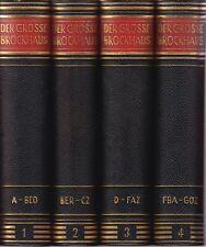 Der Große Brockhaus  16.A. (12 + 2 Bände)  1953 ff.  HLdr.