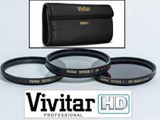 Pro 3-Pc HD UV Polarizer & FLD Filter Kit For Panasonic HDC-HS700 HDC-TM700