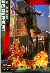 Hot Toys - Spiderman - Stealth Suit - DX Version- Spiderman: Far From Home