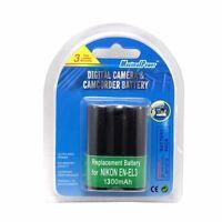Camera Battery For NIKON ENEL3 EN-EL3 EN-EL3A COOLPIX D100 D50 D70 1300mAh