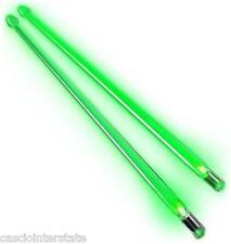 Firestix FX12GR Light Up Drum Sticks Drumsticks Green