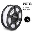 SUNLU PETG 3D Printer Filament 1.75mm 1KG/2.2LB Spool White 3d printing material