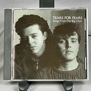 Tears For Fears Songs From The Big Chair CD Atomic Mercury 1985