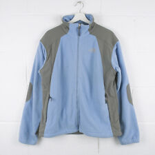 Vintage THE NORTH FACE Blue Zip Up Fleece Jacket Size Womens XL XLarge /R61022