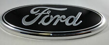 """7"""" Black FORD 2004-2014 F150 Rear Grill Backup Tailgate Emblem Oval Decal Badge"""