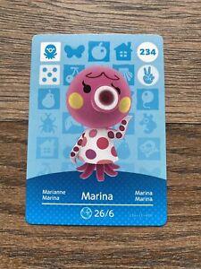 Genuine Animal Crossing Amiibo Card 234 - Marina [Mint Unscanned]