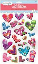 Massive A4 sheet Studiogirl puffy self adhesive hearts for cards and crafts