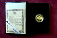1990 CANADA $100 DOLLARS GOLD COIN LITERACY  PROOF