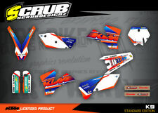 KTM Grafik SX SXf 125 250 450 525 2003 2004 '03 - '04 Sticker Dekor-Set SCRUB