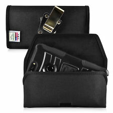 ZTE Blade Z Max Holster Metal Belt Clip Case Pouch Nylon Turtleback