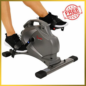 Sunny Health & Fitness Magnetic Mini Exercise Bike with Digital Monitor