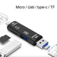 Micro USB TF OTG zu USB 2.0 Adapter SD Kartenleser für Android IOS Tablet PC