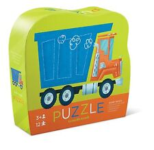 Crocodile Creek Mini Shaped Puzzle - Dump Truck - 12 Pieces