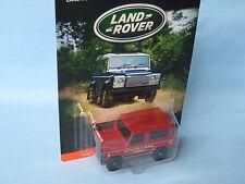 Matchbox Land Rover 90 Defender Maroon Body Payne Toy Model Car