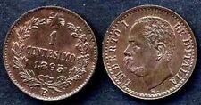1 Centesimo 1895  FDC rosso  sig./ periz.to