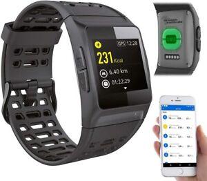 GPS-Sportuhr, Bluetooth, Fitness, Puls, Nachrichten, Farbdisplay, IP68 NEU