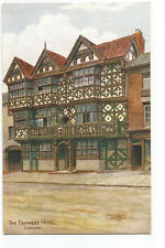 Postcard The Feathers Hotel Ludlow Shropshire UP  (A12)