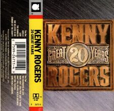 "KENNY ROGERS ""20 GREAT YEARS"" CASSETTE 1990 reprise"