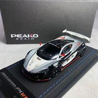 1/43 Peako McLaren P1 GTR Black / Silver West Ltd 100 pcs 32203